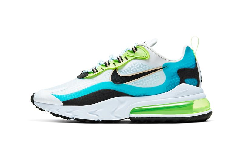 nike air max 270 react se oracle aqua ghost green washed coral black white CT1265 300 release date info photos price