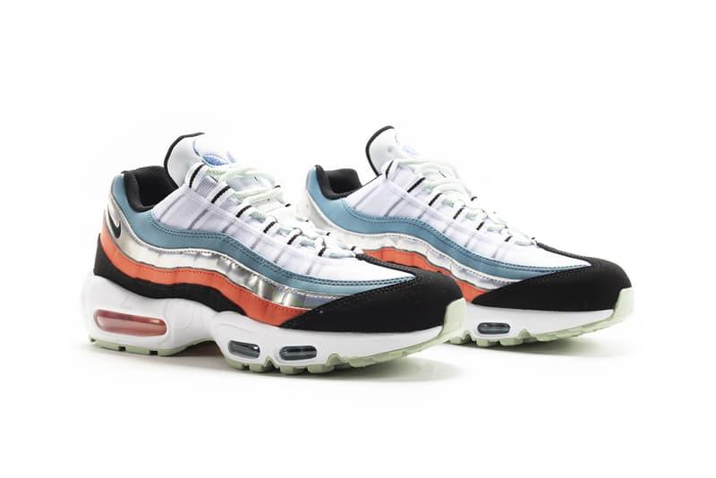 nike sportswear air max 95 alien release date info photos price CW5451 100 white black cerulean magic ember release date info photos price