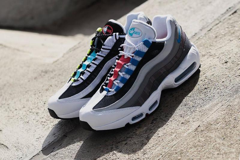 NIKE AIR MAX 95 GREEDY  CJ0589-001 mismatch colorway release info drop date price details snkrs japan atmos tokyo