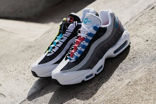 """Nike's Latest Air Max 95 """"Greedy"""" Remixes OG Colorways"""