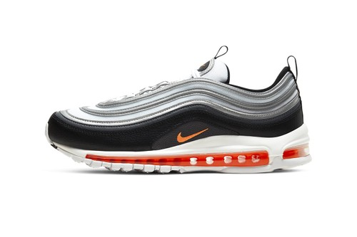 "The Nike Air Max 97 Receives a Vibrant ""Metallic Silver/Total Orange"" Revamp"