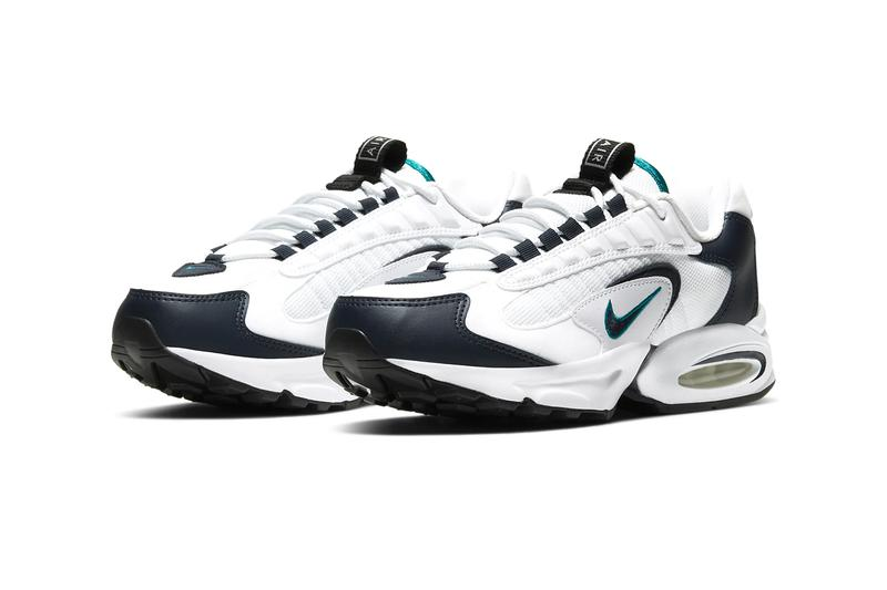 Nike Air Max Triax White Deep Emerald CT1104-100 air max sports shoes kicks footwear sneakers hypebeast Nike Air Bubble Nike Air Max Triax 96