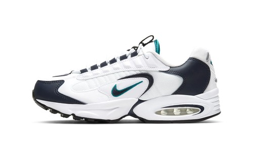 "Nike's Air Max Triax Rocks a ""Deep Emerald"" Makeover"