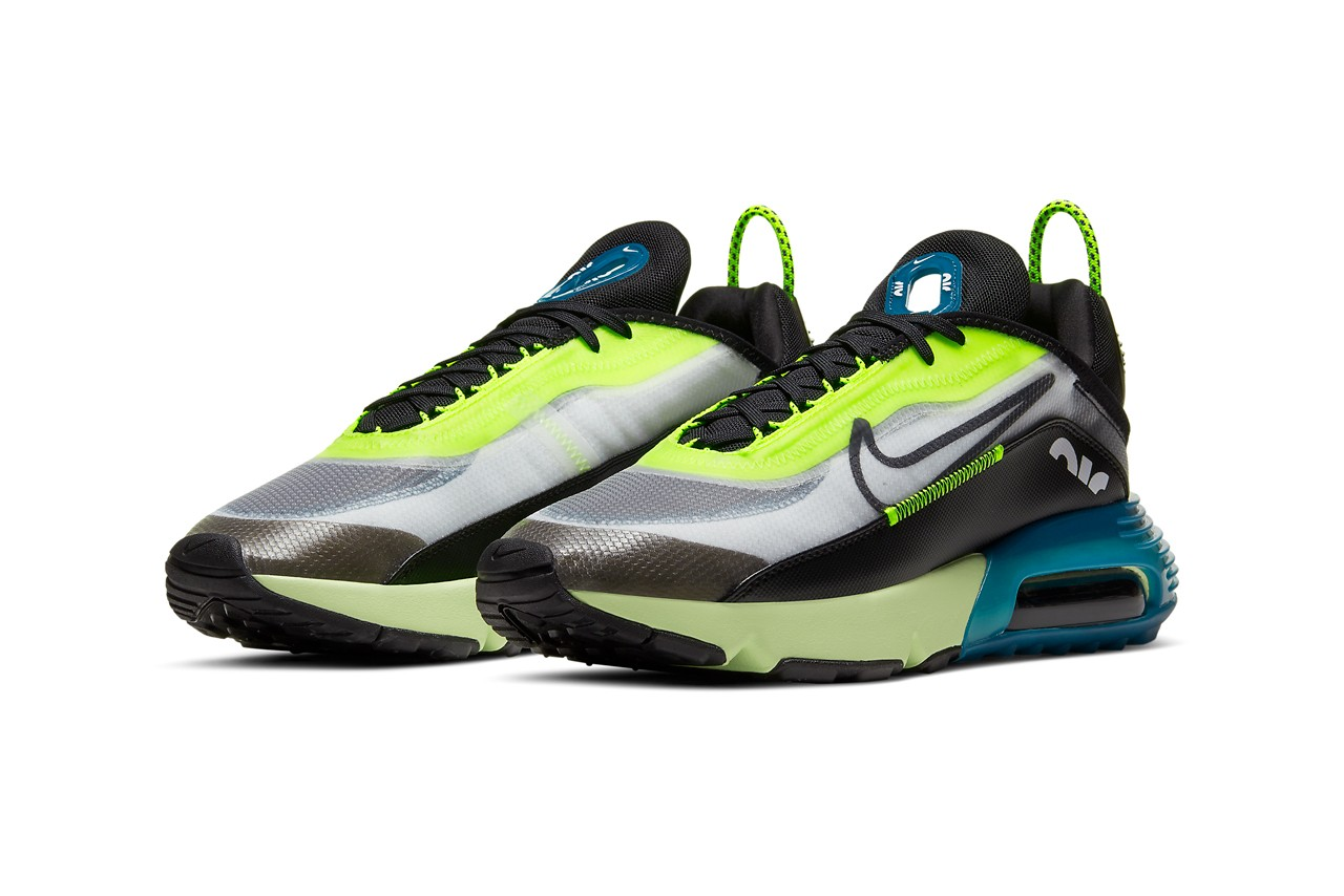 nike sportswear air max 2090 white black volt valerian blue BV9977 101 release date info photos price