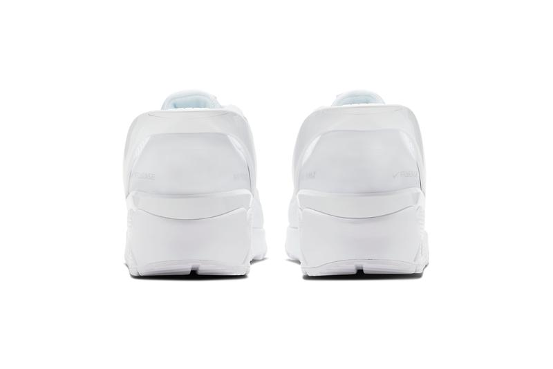 Nike Air Max 90 Flyease Triple White release
