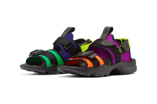"""Nike Canyon Sandal Releases in Wild """"Multi-Color"""""""