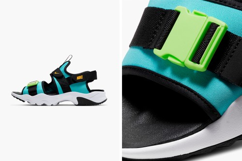 "Nike Canyon Sandal Arrives in Adventurous ""Oracle Aqua"""
