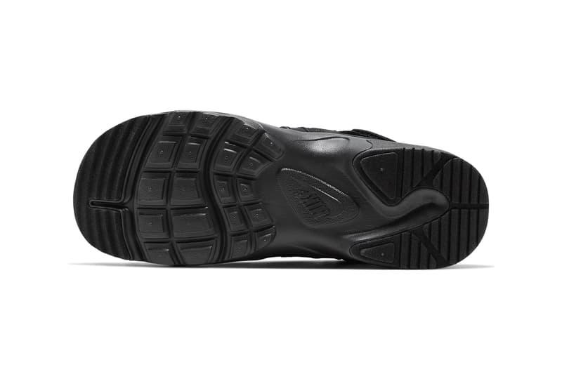 nike canyon sandal acg oracle aqua black white ghost green CW9704 001 002 300 release date info photos price