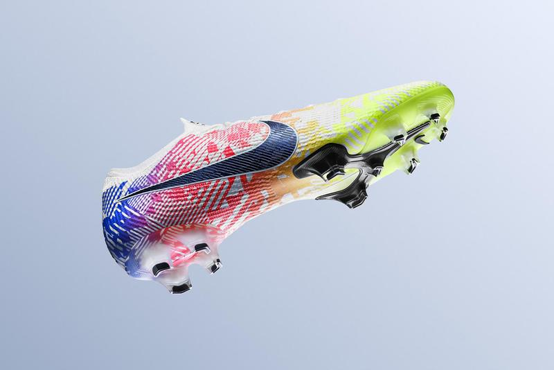 nike neymar jr football soccer boots paris saint germain psg brazil mercurial vapor jogo prismatico buy cop purchase release information White Racer Blue Volt Black AT7898-104