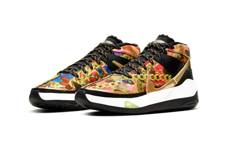 """Nike KD 13 """"Hype"""" Release Info kevin durant basketball shoe versace chains hip-hop fashion drop price details"""