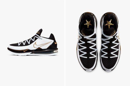 "King James Is the ""New Sheriff In Town"" With LeBron 17 Low ""Metallic Gold"""