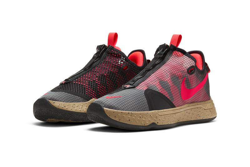 nike pg 4 pcg acg basketball paul george red tan black CZ2241 900 release date info photos price