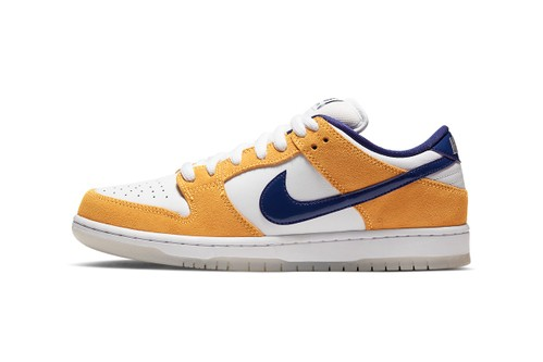 "Official Look at the Nike SB Dunk Low Pro ""Laser Orange"""