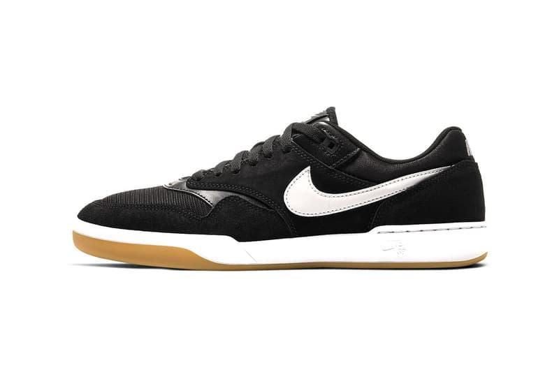 nike sb gts return black white colorway skateboarding shoes sneakers footwear