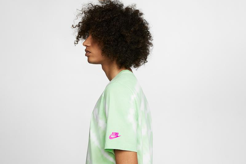 Nike Sportswear Summer 2020 T-Shirt Collection Lookbook Release Information NSW Apparel Graphics Prints Swoosh Logos Prints '90s Science Fiction Tie-Dye Psychedelia