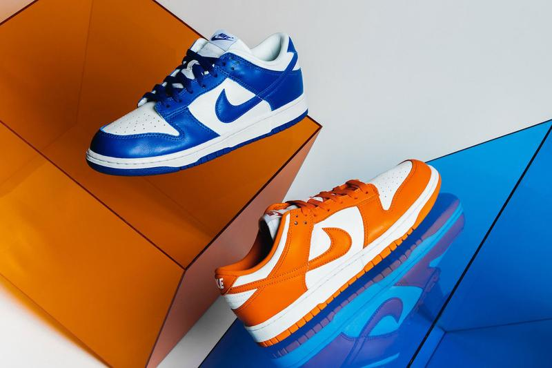 """Nike Ranks as Most Valuable Apparel Brand Dunk Low series """"Kentucky"""" """"Syracuse"""""""