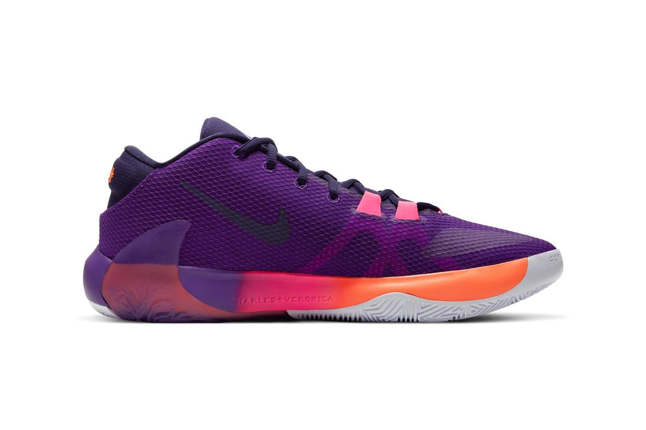 NBA 2K20 推出獨家版本 Nike Zoom Freak 1「All Bros 4」