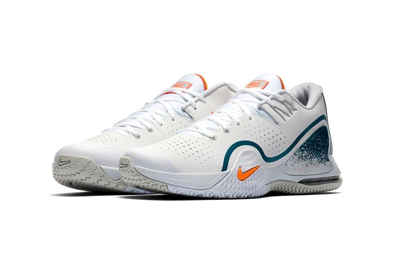 nikecourt tech challenge 20 white abyss green earth grey dutch orange clay blue bq0234-101 release date info photos price