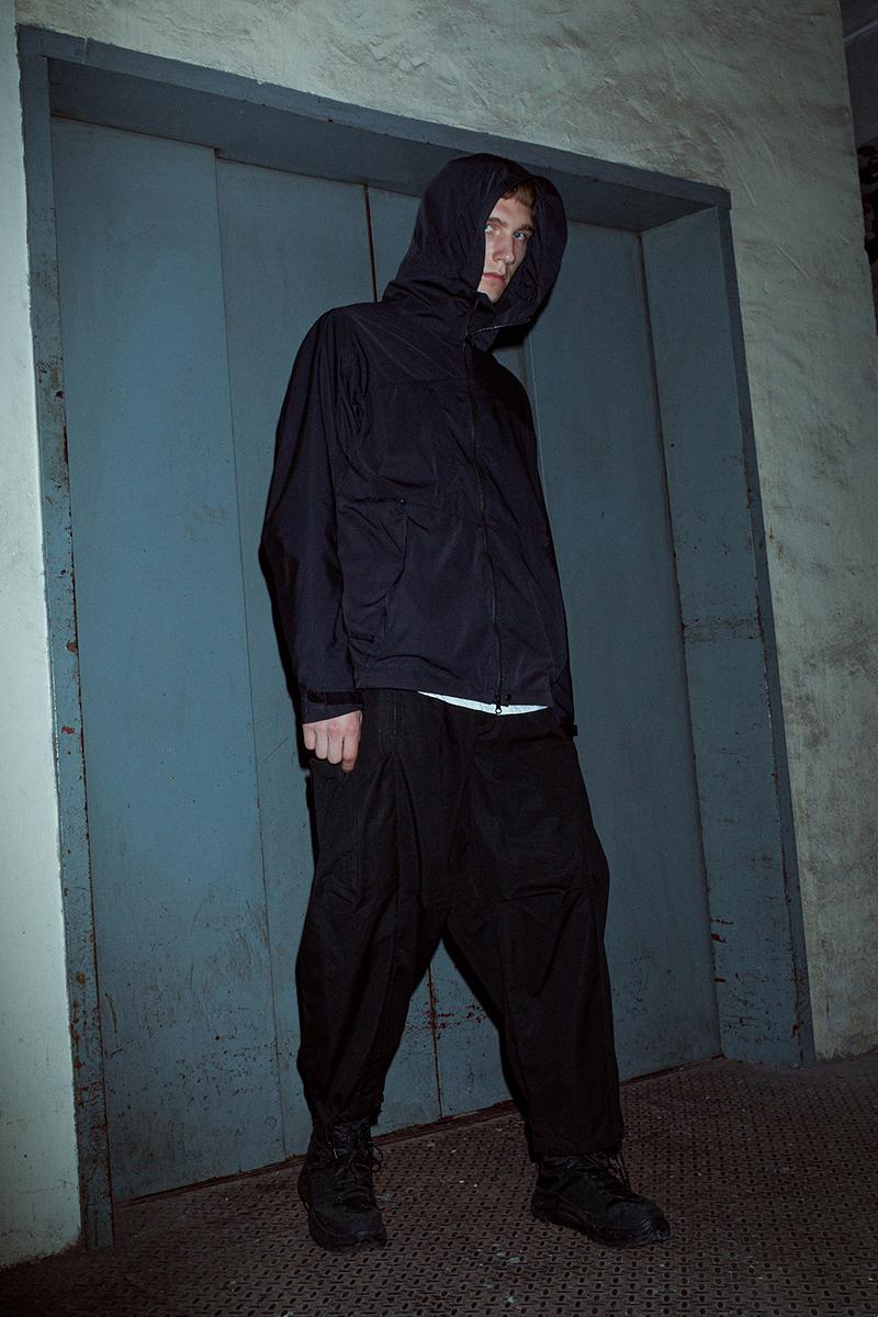 Nilmance SS20 Collection Lookbook spring/summer 2020 hong kong techwear schoeller textiles gor-tex carrying sling utility outwear military