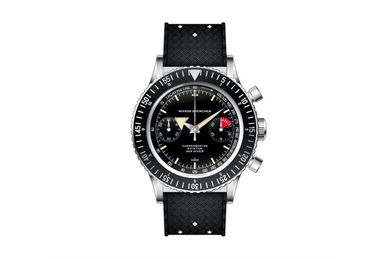 nivada grenchen swiss made watches sellita movement chronomaster antarctic collections vintage