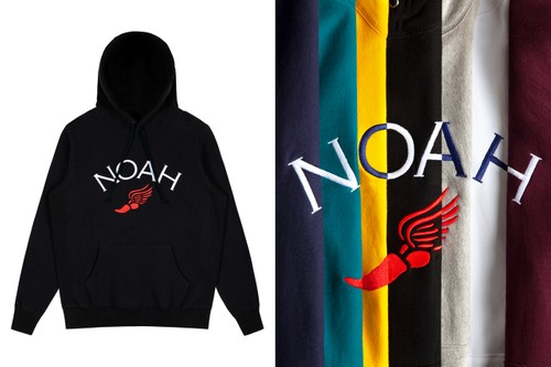 NOAH Delivers Embroidered Winged Foot Hoodies for Latest Drop