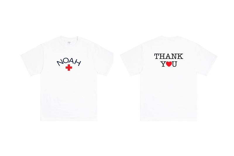 noah thank you core logo tees release apparel fashion style streetwear