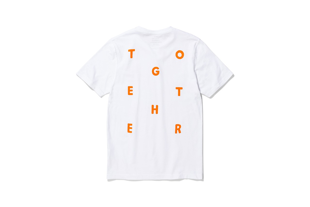 norse projects wood wood soulland le fix mads nørgaard collection together t-shirt coronavirus covid-19 buy cop purchase relief homeless community denmark copenhagen