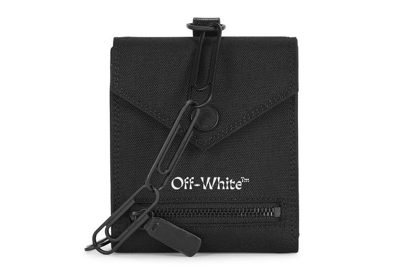 Off-White™ Canvas Chain Wallet Release Info Buy Price Black