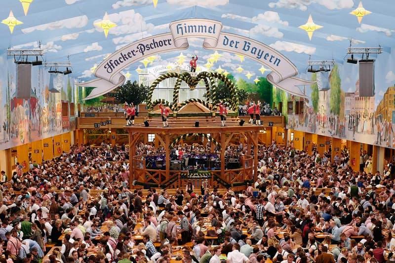 Munich's Oktoberfest Canceled Due to Coronavirus Beer Festival Hall Germany