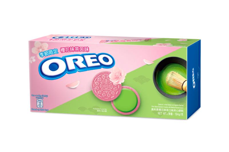 Oreo Peach Oolong and Sakura Matcha Flavor Release Nabisco Confectionary Cookies Filling Japan Japanese Hong Kong Snacks