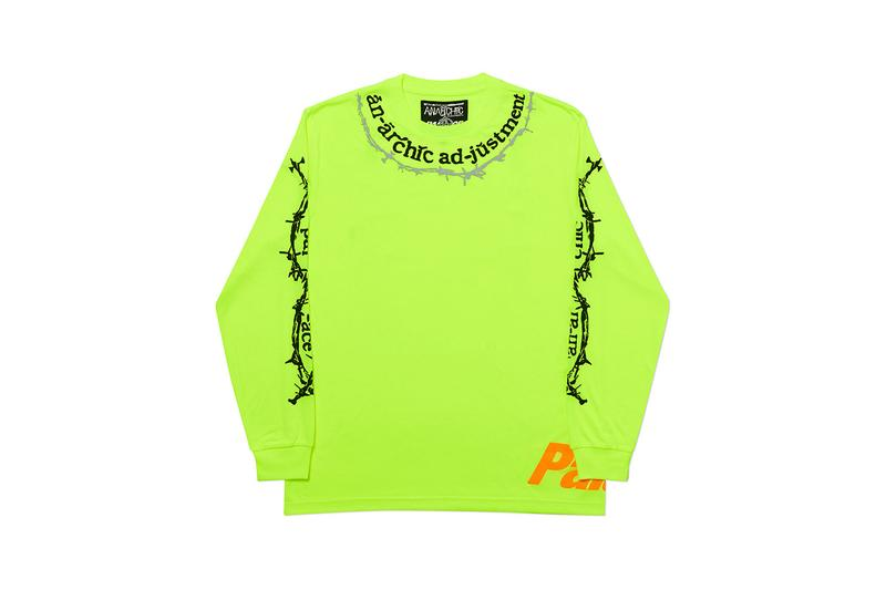 Palace anarchic adjustment spring 2020 release information skateboards London collaboration nick Phillips bunk box rave acid house details news