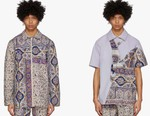 Paria Farzaneh's SS20 Iranian-Print Pieces Get Splashed With Rich Purple Tones