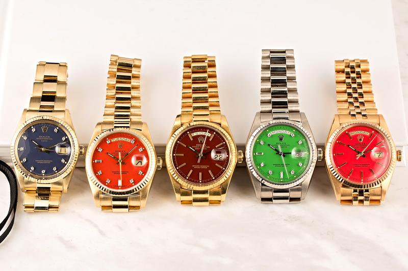Paul Altieri's Complete Rolex Stella Dial Collection Bob's Watches Rolex Swiss Watches Rolex Tudor Vintage Horology wristwatches