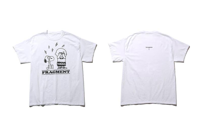 Peanuts fragment design THE CONVENI T-Shirt Capsule Release info Buy Price Hiroshi Fujiwara