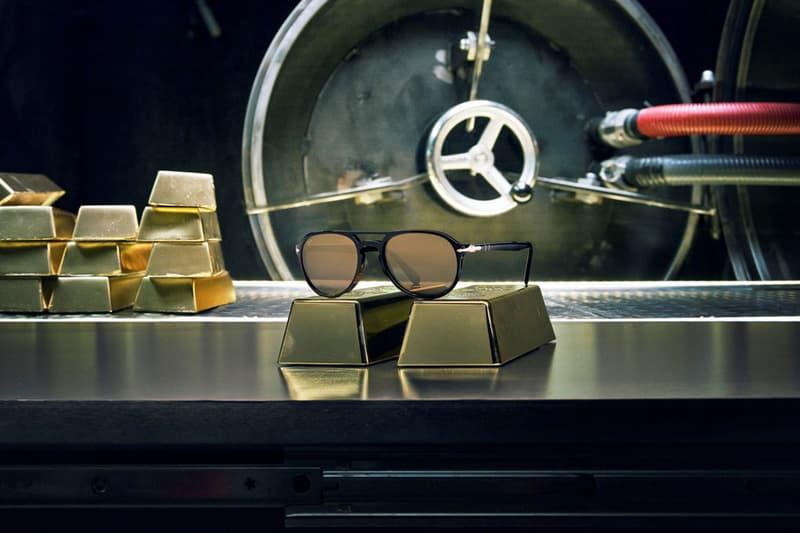persol money heist el professor limited capsule collection La Casa De Papel 24k gold plated lens Original Sergio sunglasses optical frames netflix
