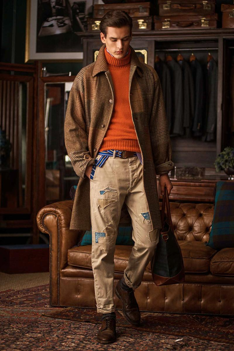 Polo Ralph Lauren fall winter 2020 FW20 Collection Lookbook western americana workwear suiting cinematic costumes