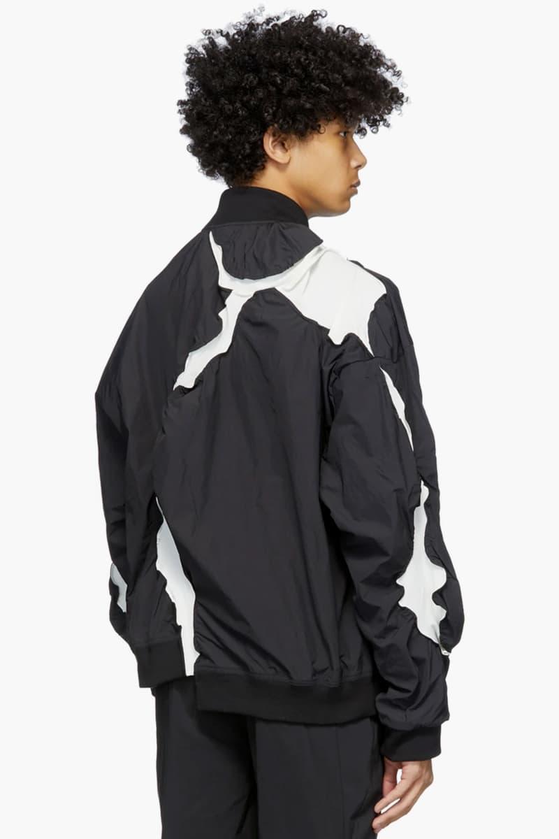 Post Archive Faction 3.0 Left Jackets Release Info grey and white black south korean fashion retro-futuristic nylon polyamide asymmetric panels
