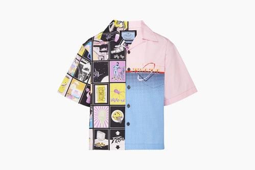 Prada SS20 Double Match Bowling Shirts