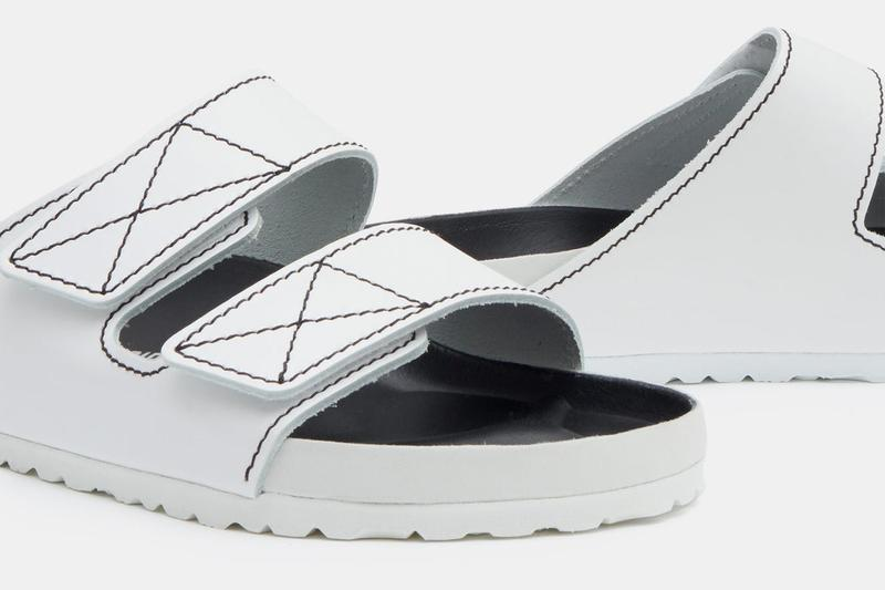 Proenza Schouler x Birkenstock Collaboration Footwear Release Information Arizona Milano Leather Sandals Luxury Work From Home Shoes WFH Slippers Isolation Quarantine Kicks