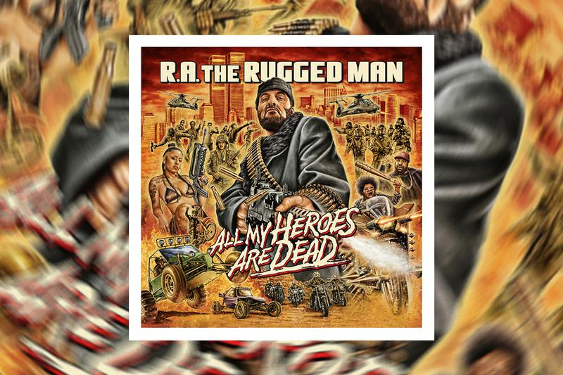 "R.A. The Rugged Man ""Dragon Fire"" Single Stream hip-hop rap boom bap nyc new york ghostface killah masta killa kool g rap xx3eme"