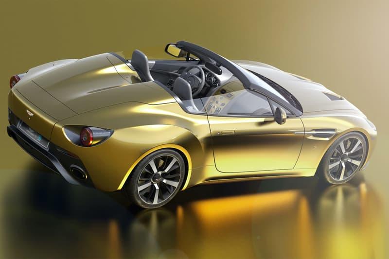 r reforged british warwick 2011 aston martin vantage v12 zagato twins supercars racing Italian design