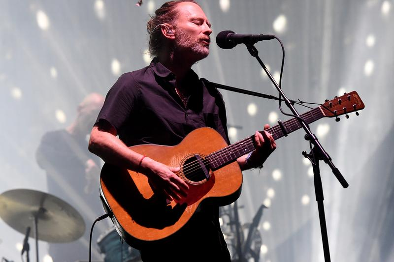 Radiohead Public Library youtube Announcement music live concerts Thom Yorke free Live From a Tent In Dublin