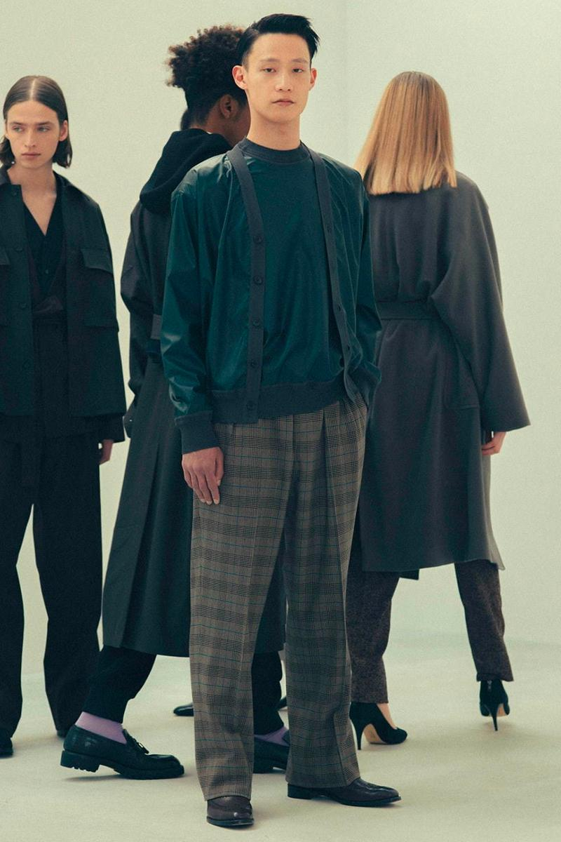 Rainmaker Kyoto FW20 Collection Lookbook fall/winter 2020 womenswear menswear japan brand sartorial garments traditional hanten haori kimono business casual suiting