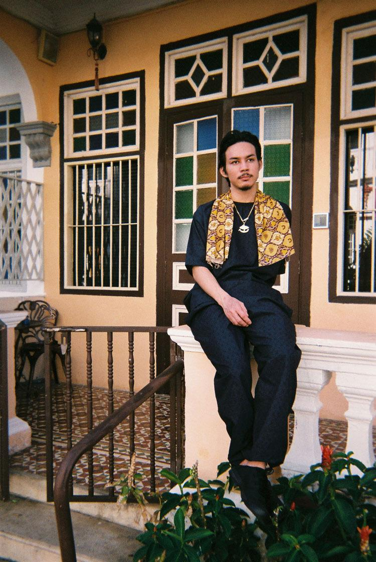 Monkey Time Rajabrooke 2020 Capsule menswear streetwear spring summer collection layers seasonal batik print pattern japanese designer southeast asia malaysia