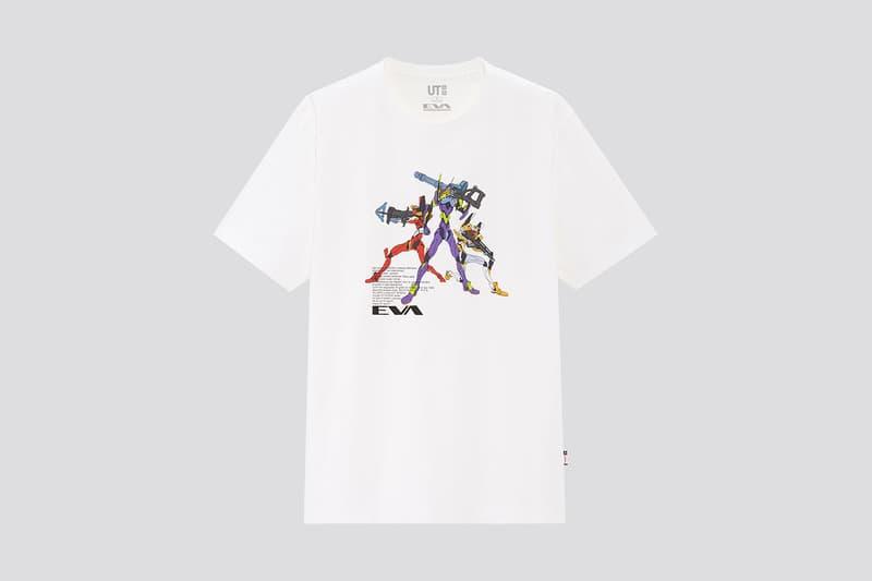 Rebuild of Evangelion 4.0 x UNIQLO UT T-Shirt Collaboration collection movie film japan release date info buy april 17 2020