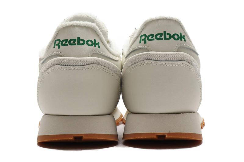 Reebok CL Leather Paper White, Black Release Info