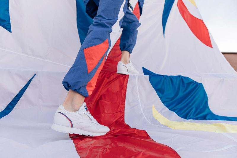 Reebok Classic International Sport Lookbook tracksuits track pants release date info photos price t shirt sweatshirt crewneck club c classic leather