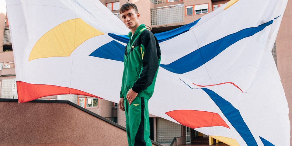"Reebok Salutes Its Vector Logo With ""International Sports"" Collection"
