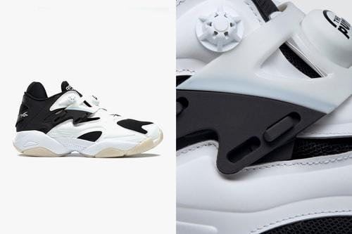 "Reebok Pump Court ""White/Black"" Provides Throwback Technical Style"