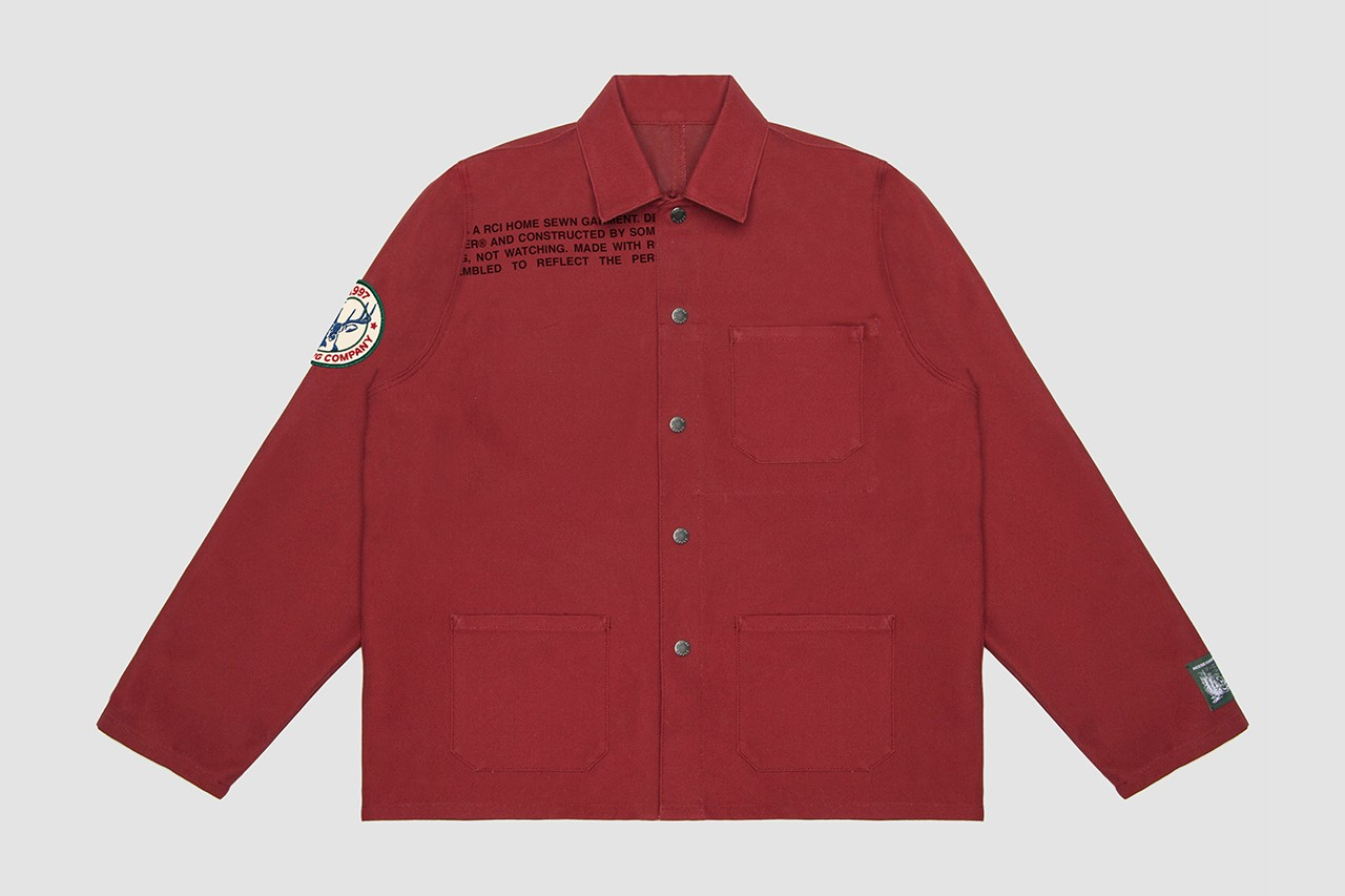 Reese Cooper DIY Chore Coat, Patches, Sewing Kit incorporated collection jacket